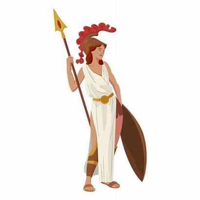 Greek Athena God Svg Transparent Unicorn Vexels