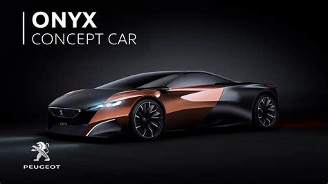 Peugeot Onyx Concept Car - YouTube