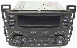 2004 2005 2006 Chevy Malibu Factory Stereo 6 Disc Changer