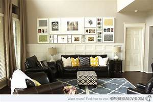 15 living room wall decor for added interior beauty home With decoration of living room walls