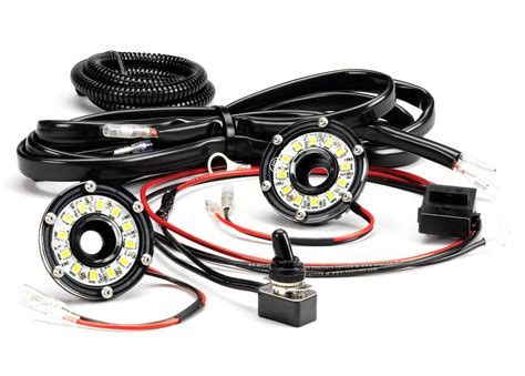 led light kit kc hilites dual cyclone led universal lighting kit