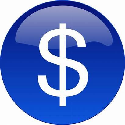Clipart Dollar Sign Money Circle Clip Vector