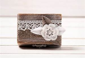 Ring box wedding ring holder pillow bearer box wedding ring for Wedding ring holder box