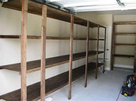 garage shelving ideas ideas organize the garage shelf plans garage storage