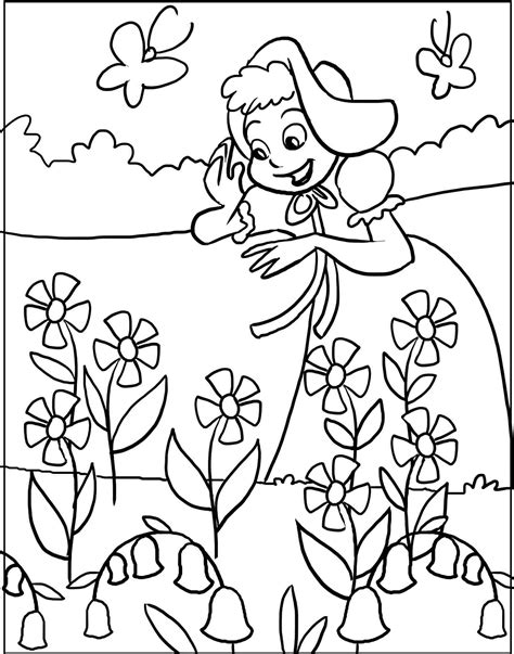 Stylish Inspiration Ideas Printable Coloring Pages Spring