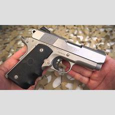 Colt 1911 Lightweight 45acp Defender 1911 Pistol Overview