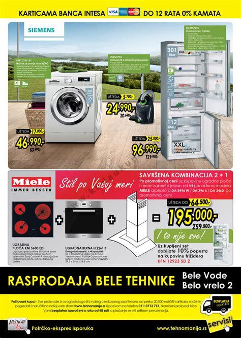 Tehnomanija Katalog Akcija Bela Tehnika 01.05. - 31.05 ...