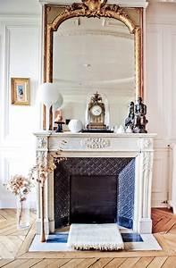 White, Or, Black, Fireplace, Mantles