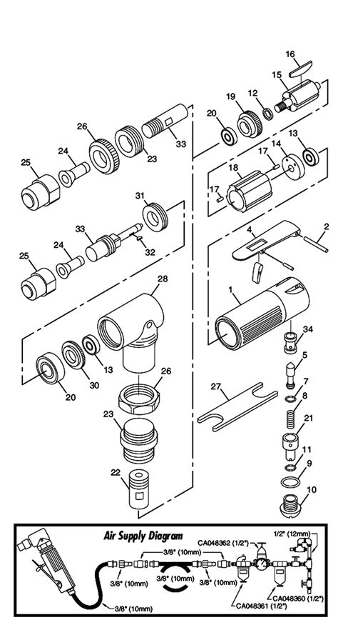 Chicago Pneumatic CP875 Parts List | Chicago Pneumatic
