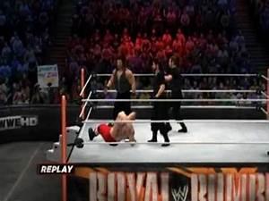 WWE13: Brock Lesnar vs The Shield - YouTube