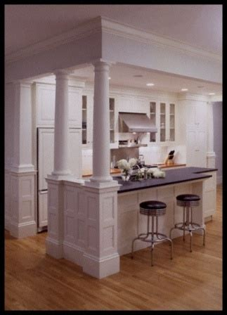 kitchen island with columns kitchen island with columns for the home