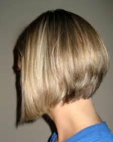 Angled Bob Hairstyle Short Haircuts