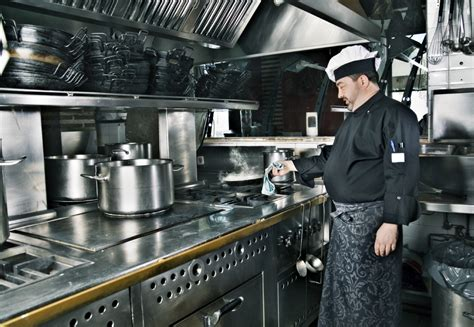 kitchen restaurant is your kitchen sustainable enough Industrial
