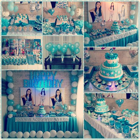 frozen theme birthday party angela christis  diary