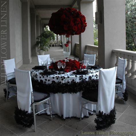 wedding decorations red black and white red black and white wedding decorations