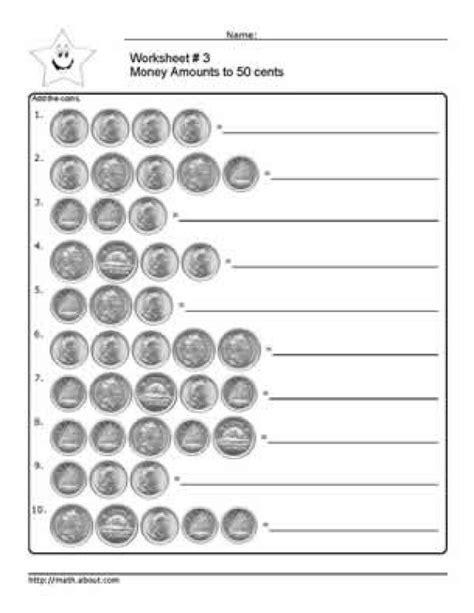 7 best images of canadian money worksheets printable