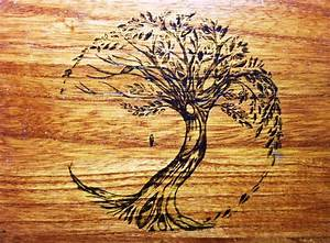 Tree of life wood burning by lilygirl04 on DeviantArt