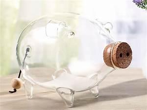 Deko Aus Glas : carlo milano spardosen deko xl sparschwein aus glas 21 cm spardose gro glas ~ Watch28wear.com Haus und Dekorationen