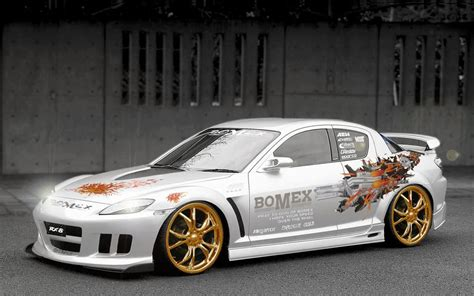 Mazda Rx-8 Car Wallpapers, History And Technical