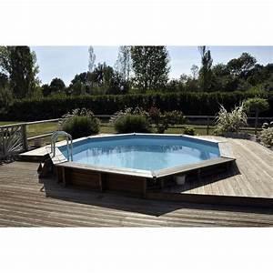 Piscines Semi Enterrées : piscine semi enterr e bois ~ Zukunftsfamilie.com Idées de Décoration