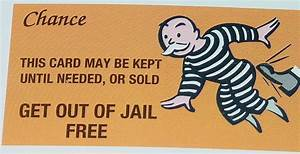 someone game up with a new board game idea makingamurderer With get out of jail free card template