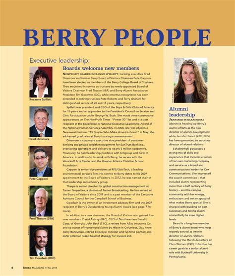 Berry Magazine Fall 2014 by Berry College - Issuu