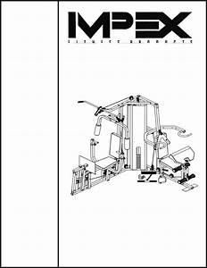 Impex Home Gym Mwb Cr 4 User Guide