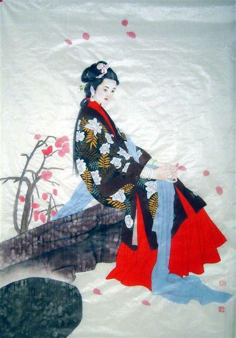chinese painting beautiful lady chinese painting cnag artisoocom