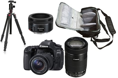 canon eos       bag tripod kit