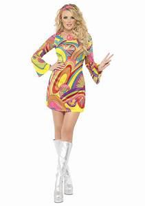 60 Jahre Style : 60s sexy flower power costume ~ Markanthonyermac.com Haus und Dekorationen
