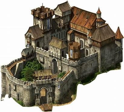 Tribal Castle Fantasy Minecraft Wars Medieval Concept