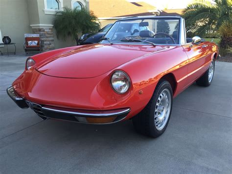 1973 Alfa Romeo Spider Fantastic Conditionrare Euro