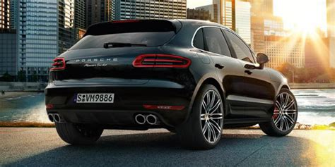 Macan Turbo With Performance Package by 2017 Porsche Macan Trim Differences