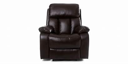 Recliner Massage Manual Chair Brown Heat Salisbury