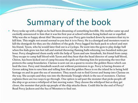 lightning thief book report summary sludgeport