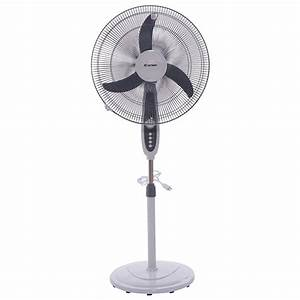 Home 18 U0026quot Adjustable Oscillating Pedestal Fan Stand Floor 3