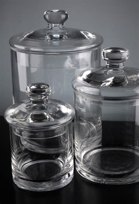 Kitchen Glass Canisters by 25 Best Glass Canisters Ideas On Bulk Food