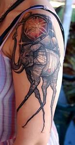 Sleeve Salvador Dali Tattoo Design For Women, salvador ...