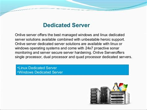 Bulk Email Server, Dedicated Servers