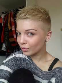 Super Short Shaved Pixie Cut Haircuts