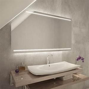 Spiegel Mit Schräge : iadnes led badspiegel mit dachschr ge online kaufen ~ Michelbontemps.com Haus und Dekorationen