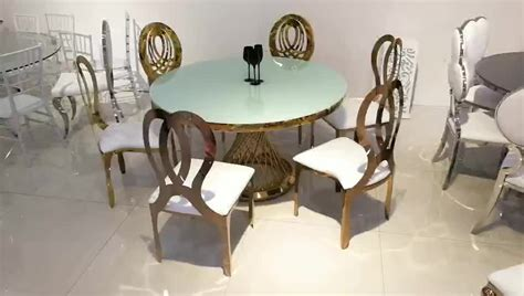 stainless steel wedding event dining table buy
