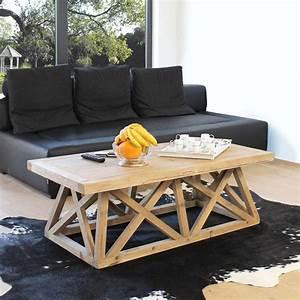 Table Basse Pied Bois : 53 id es de table basse d co pour votre salon ~ Teatrodelosmanantiales.com Idées de Décoration