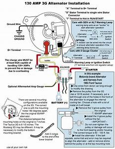 1985 Mustang 3 Wire Alternator Wiring Diagram