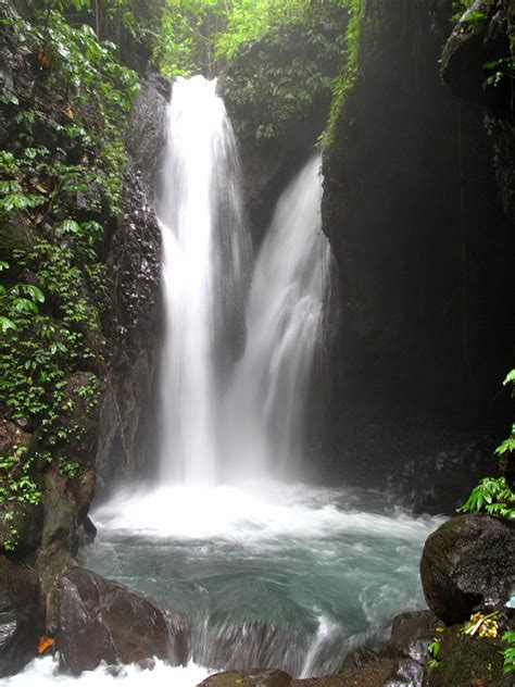 Filegitgit Waterfall Campuhan Area Bali Indonesia