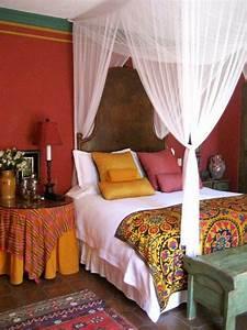 Bohemian, Style, Bedroom, Ideas