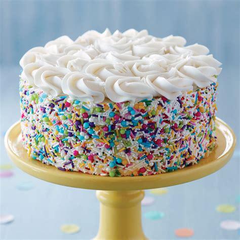 sprinkle   fun birthday cake wilton