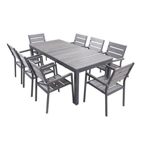 table chaise de jardin ensemble table chaise jardin