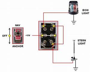 Wiring Running Lights To A 3 Position Spdt Cole Hersee Push Pull Switch Page  1