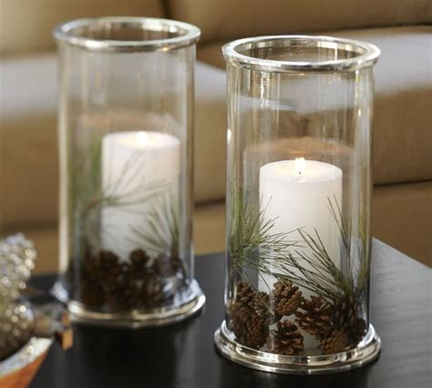hurricane ls for candles silver rim glass hurricane contemporary candleholders
